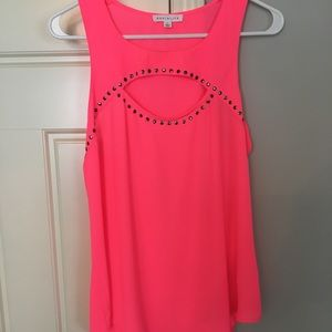 NWOT! Never worn nor washed.  Hot pink blouse